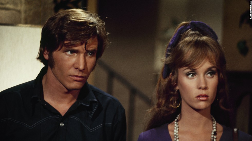 "Ford with Jenny Sullivan on the television show ""Love, American Style"" in 1969."