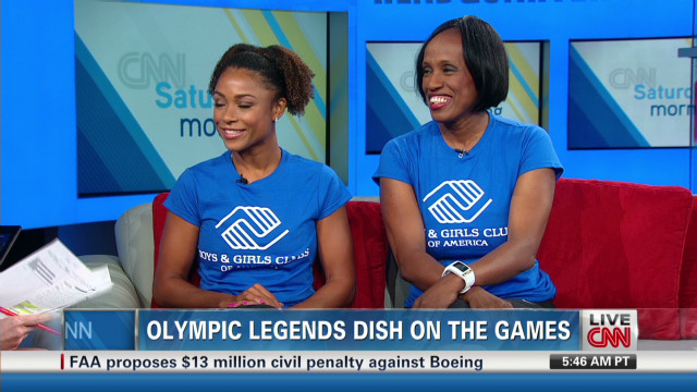 Olympic legends dish on the games
