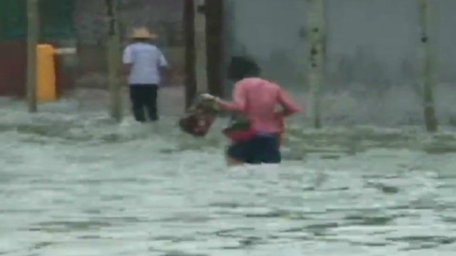 China flooding after heavy rains