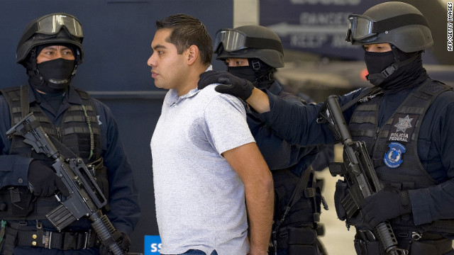 Bogard Federal police officer Felipe Lugo de Leon was arrested in connection with a deadly shootout at the Mexico City airport.