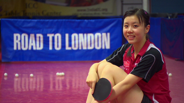 Teen table tennis whiz competes for U.S.