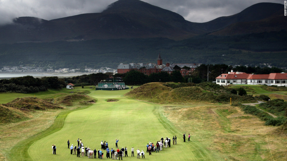 Set at the feet of Northern Ireland's majestic Mountains of Mourne, Royal County Down opened in 1889 and was given royal patronage almost 30 years later. Exposed to winds from the Irish Sea, the rugged sand dunes are covered by purple heather and yellow gorse. A fierce debate rages over its relative merits versus County Antrim's Royal Portrush.