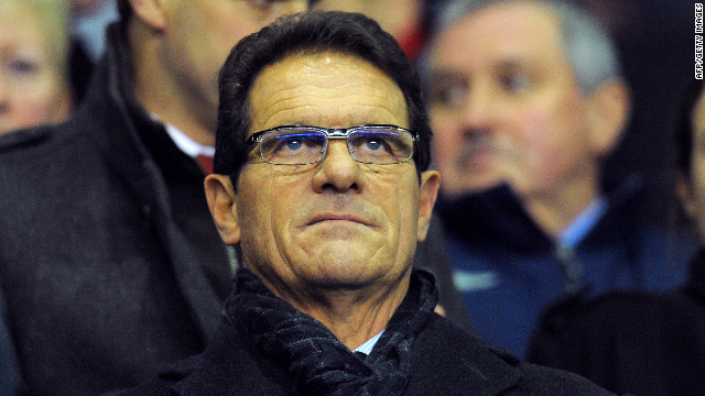 Fabio Capello is the new manager of the Russian national team