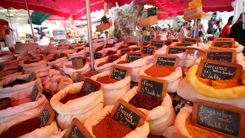 <strong>Marche Provencal, Antibes, France: </strong>Visitors can learn more about the art of French cooking by wandering through a maze of local specialties in Marche Provencal.