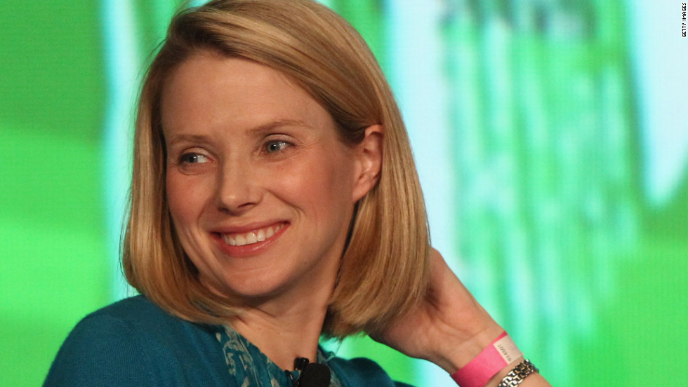 New Yahoo CEO Marissa Mayer was the first female engineer hired at Google in 1999, where she became one of the company's top executives and most visible public faces. Only 37, Mayer has often been named one of the most powerful women in business. Mayer spoke here at  at TechCrunch Disrupt NYC in May 2012.