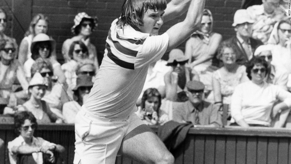 Jimmy Connors is fourth on the list with 268 weeks. The American is the only male to have won more than 100 singles titles, while he has also reached more grand slam quarterfinals (41) than any other player. The eight-time major champion was also the first man to spend a total of five years in the No. 1 spot.