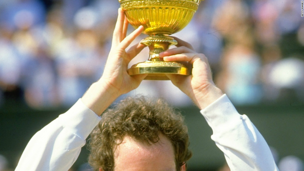 Perhaps more famous now for his commercial ubiquity, John McEnroe was one of the best players of his era. Renowned for his fiery temperament and on-court rivalries with the likes of Lendl, Connors and Sweden's Bjorn Borg, the American has spent the fifth longest amount of time in the top spot with 170 weeks.