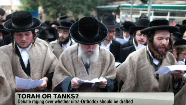 Orthodox Jew military controversy
