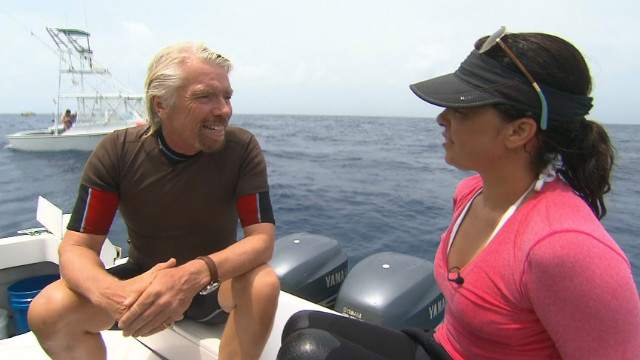 Branson new venture to help save sharks