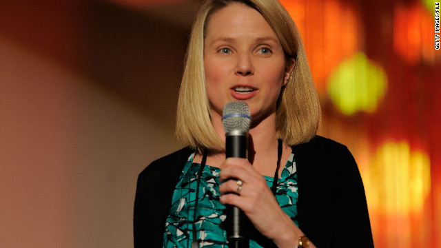 Marissa Mayer takes over at Yahoo!