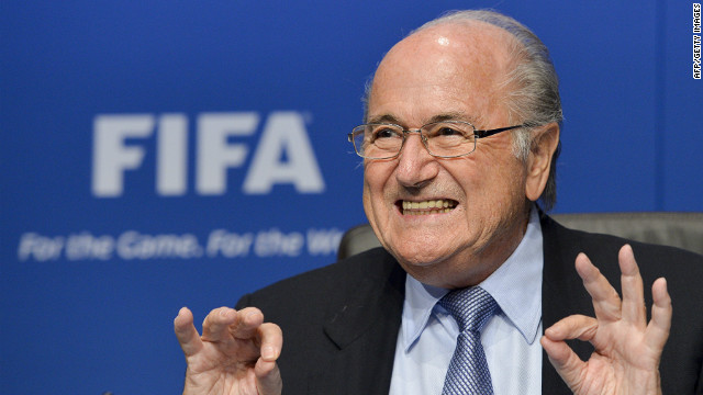 "Sepp Blatter vowed to steer FIFA away from ""troubled waters"" when he was re-elected as president in June 2011"