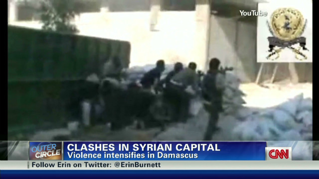 Outer Circle: Clashes in Syrian capital