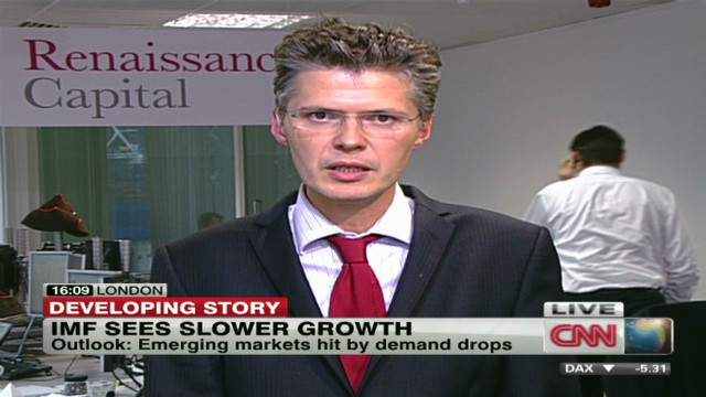 IMF sees slow growth