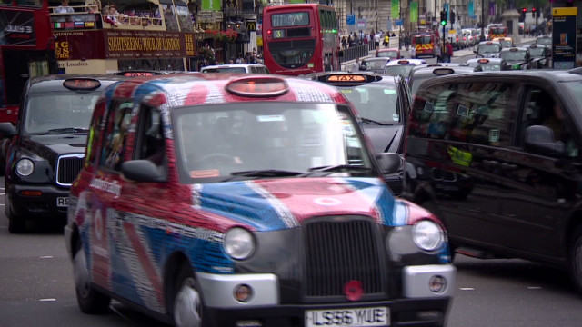 Cabbies protest 'Olympic lanes' in London