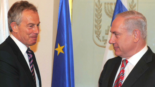 Blair on the Palestinian peace process