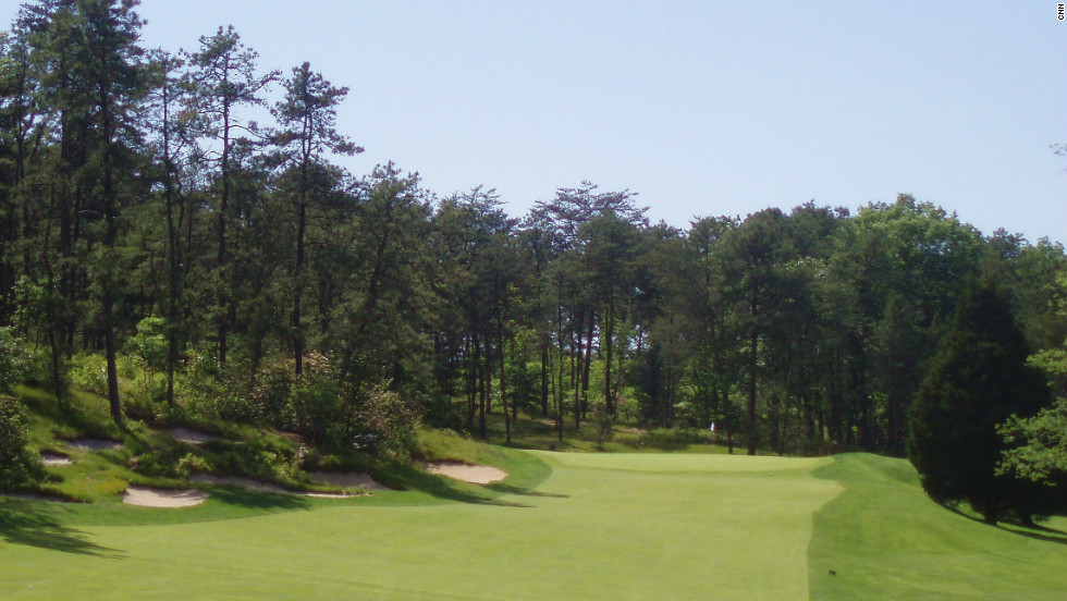 The first and only course designed by George Crump, Pine Valley is set in relatively featureless New Jersey countryside. Since opening in 1919 it has been considered among the most perfect and varied challenges in golf.