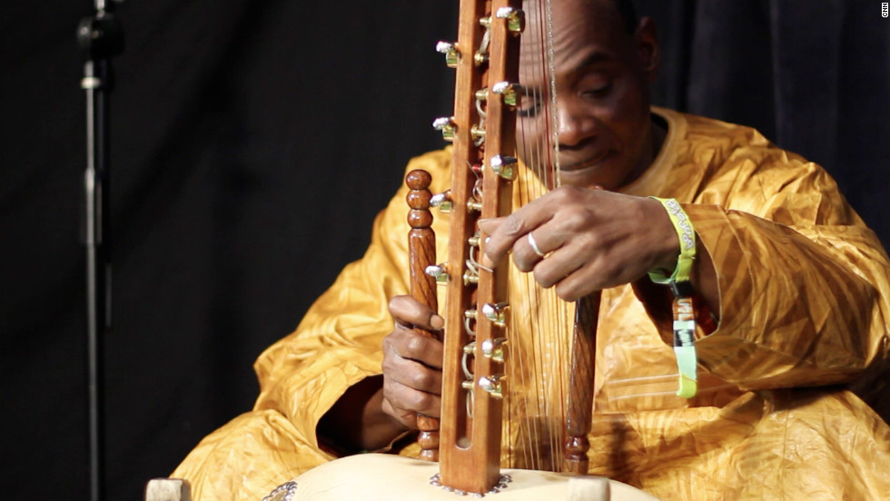 Malian kora master Toumani Diabate is renowned for his daring musical collaborations. His latest band, AfroCubism, blends together the sounds of West Africa with Cuba.