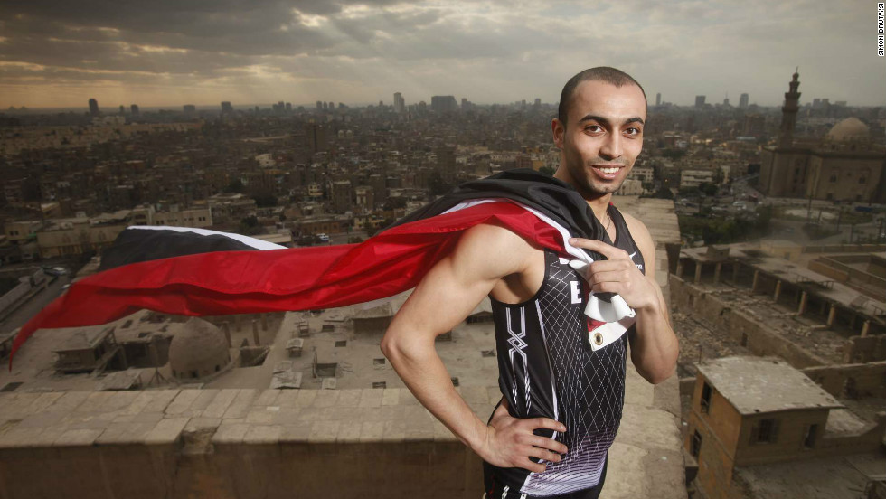Amr Seoud is the  Arab world's fastest man, yet he is an unknown in Egypt. He was out on the streets in Tahrir Square when the revolution began.