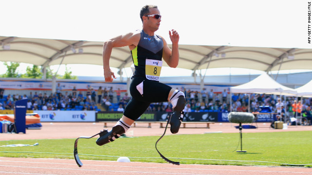Oscar Pistorius' fighting spirit