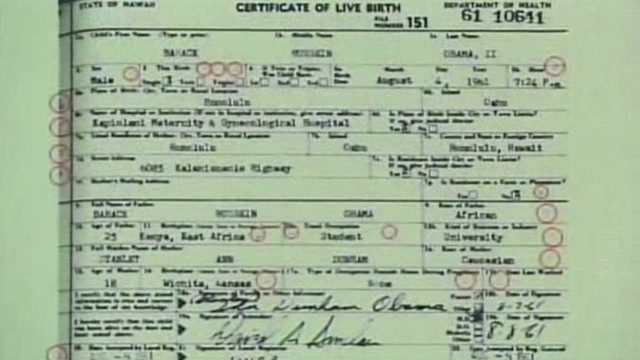 Arpaio: Obama birth certificate forged