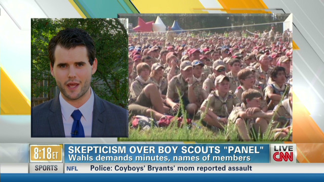 Advocate to Boy Scouts: change is coming