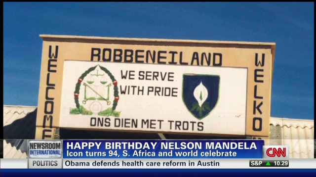Nelson Mandela turns 94!
