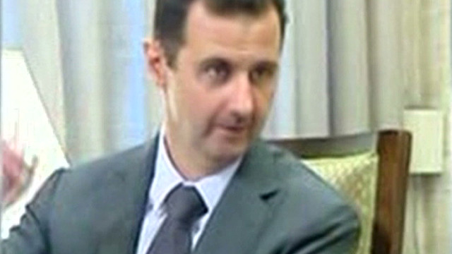 First images of al-Assad after government building blast on 7/18/12