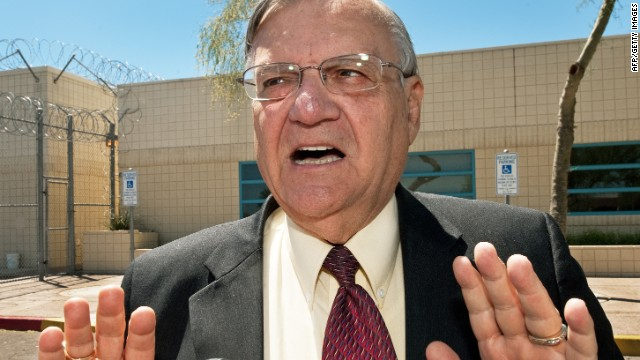 A court ruled in May that  Sheriff Joe Arpaio's routine handling of people of Latino descent amounted to racial and ethnic profiling.