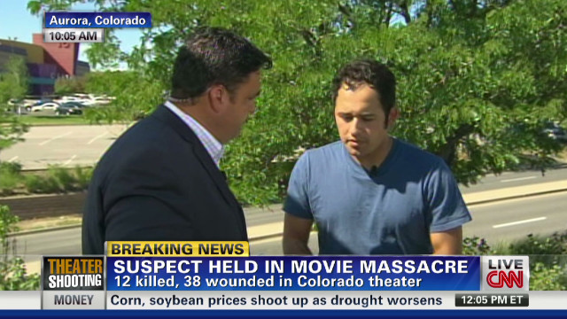 Witness: Shooter was aiming everywhere