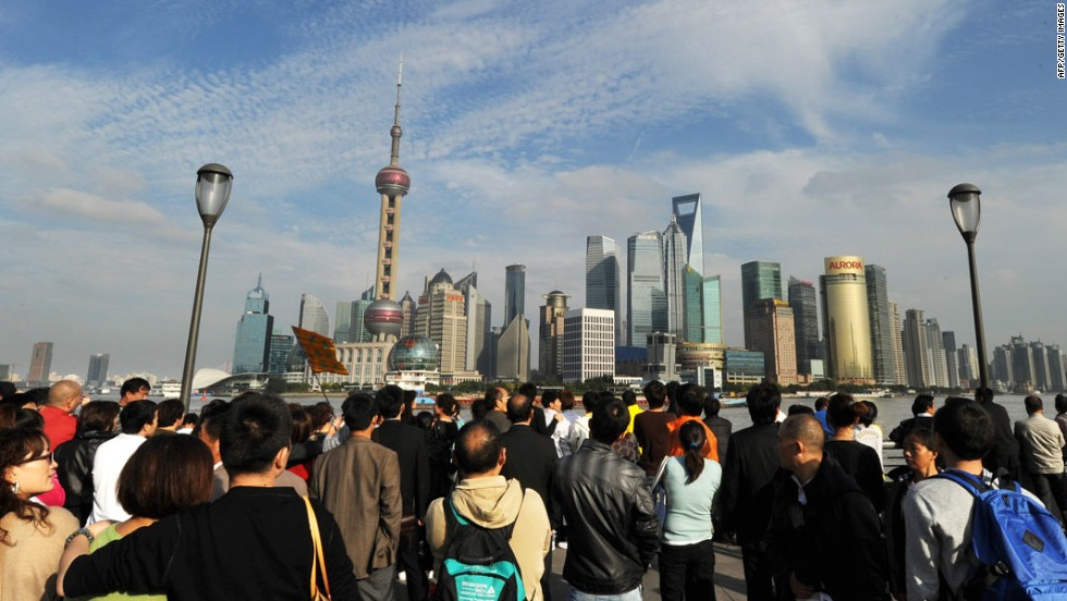 There maybe fears of property bubbles and growing class divides, but the country's nouveau riche don't seem to care about splashing the cash in China. Especially in Shanghai where luxury property prices are higher than any other major Chinese city, growing by 10.8% in 2012 alone. One square meter here costs between $19,600 and $21,700) (roughly 48 square meters for every $1 million).