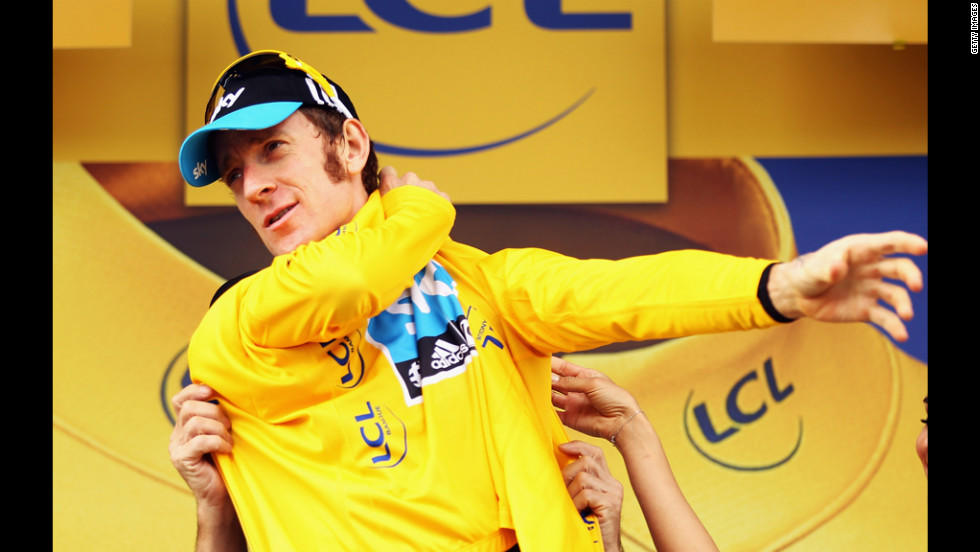 Bradley Wiggins of Great Britain and SKY Procycling retained his race leader's yellow jersey after Stage 18 on Friday.