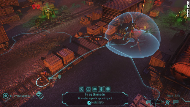 "Firaxis Games's ""XCOM: Enemy Unknown,"" a new turn-based strategy game, is slated to debut in October."