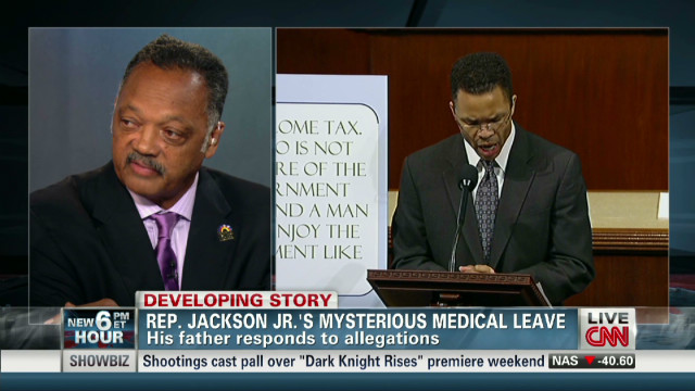 Rev. Jackson talks about son's condition
