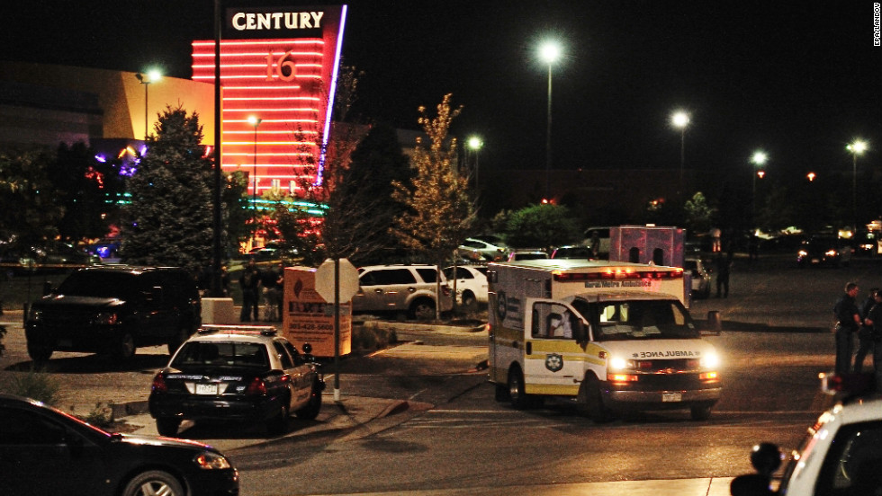 The Century Aurora 16 multiplex in Aurora becomes a place of horror after a gunman opened fire July 20, 2012, in a crowded theater.