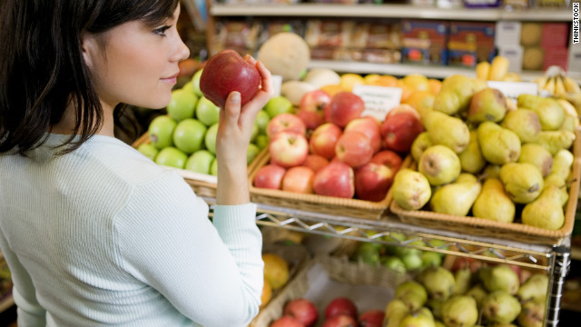 Grocery shopping can save both money and calories.