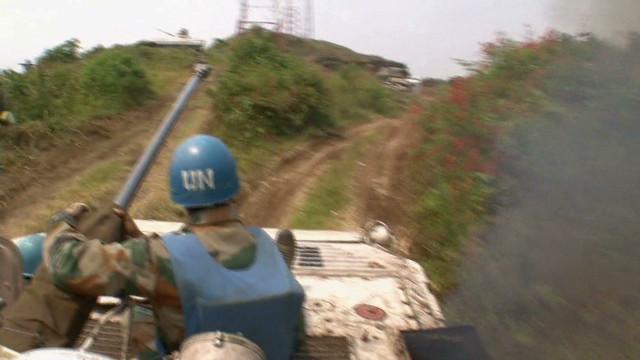 Rebels recruiting in the Congo