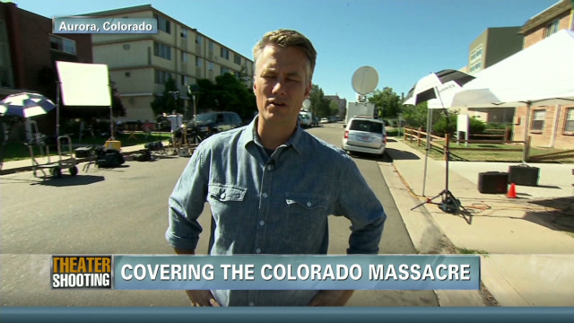 Reporting on the Aurora shooting