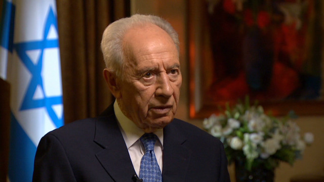 Israel Peres Iran-Syria Interview_00004503