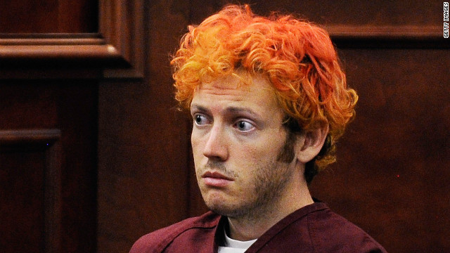 Accused movie theater shooter James Holmes makes his first court appearance at the Arapahoe County on July 23, 2012 in Centennial, Colorado.