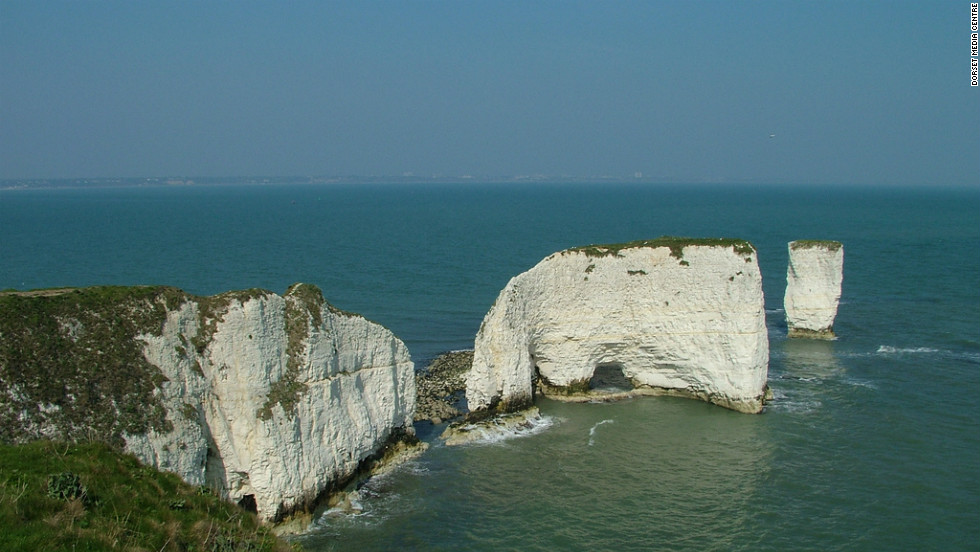 The Jurassic Coast was the first site in England to be given World Heritage status by UNESCO. It features rocks dating back 185 million years -- spanning the Triassic, Jurassic and Cretaceous periods.