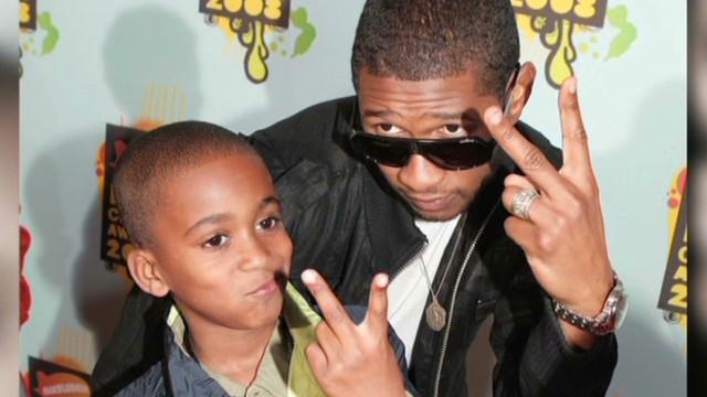 2012: Usher's stepson dies