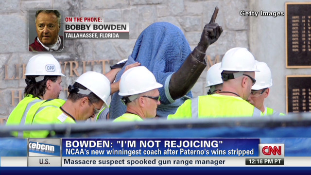 Bowden: 'I'm not rejoicing'