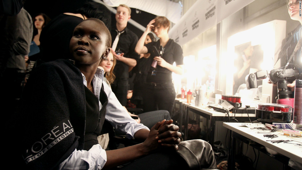 Today, Alek Wek is a world famous supermodel, featured in magazines and on catwalks. Yet in the early 90s, Wek and her family were penniless refugees forced to leave their home.