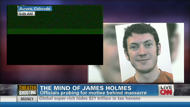 The mind of suspect James Holmes