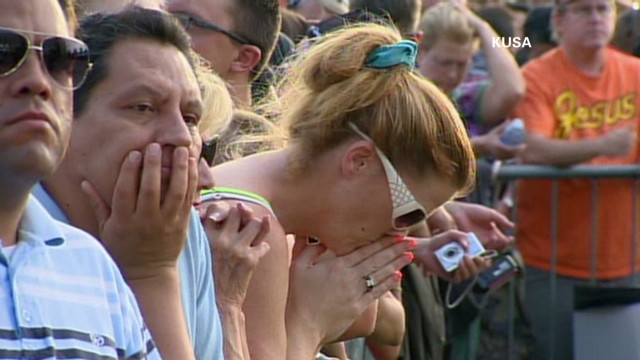 Aurora shooting victims honored