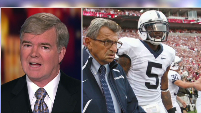 NCAA president: PSU fine goes to victims