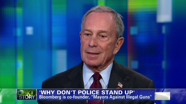 Bloomberg on a potential police strike