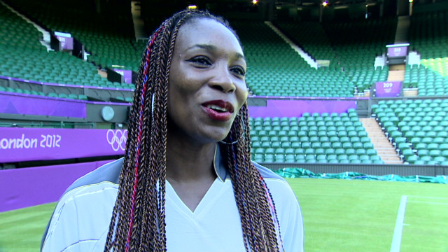 Venus Williams excited by London 2012