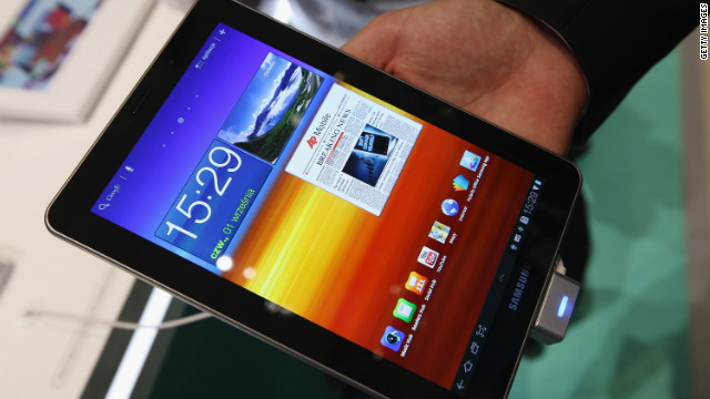 "Samsung says it's ""disappointed"" with a German court's ruling that the Galaxy Tab 7.7 infringes on Apple's patent."