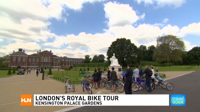 London's royal bike tour
